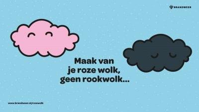 foto Maak van je roze wolk geen rookwolk